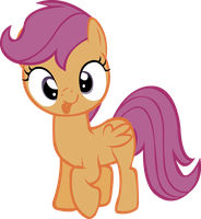 Scootaloo - Derp by midnite99