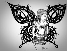 back to school tribal wings by packness