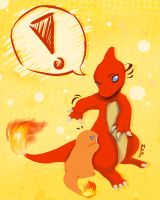Charmander used bite by mikadove