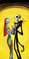 jack and sally by kidnotorious by JoelAmatGuell