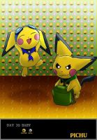 Day 20 Pichu by Jacklave