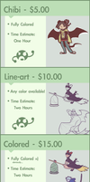 Commission Prices by Effar