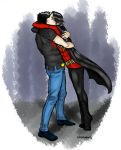 TimKon Hugs by AnieBeax3