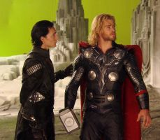 Thor and Loki!!! by Zeldalover227