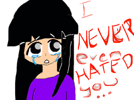 i never hated you by izmene
