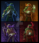 TMNT 2012 by Rubilight