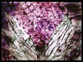 Finger paint flower by diosaperdida