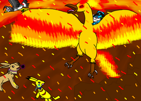 V.S. Moltres by Piplup-Luv