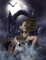Queen of the Damned by AngeloftheMists