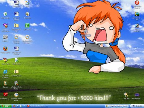 Thank You for +5000 Hits by lampjelly