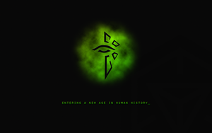 Ingress Enlightened Wallpaper by jonnthomsen