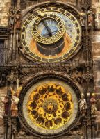 Astronomical Apostle's Clock by pingallery