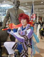Kratos Aurion Cosplay Pic 1 by POOTERSS