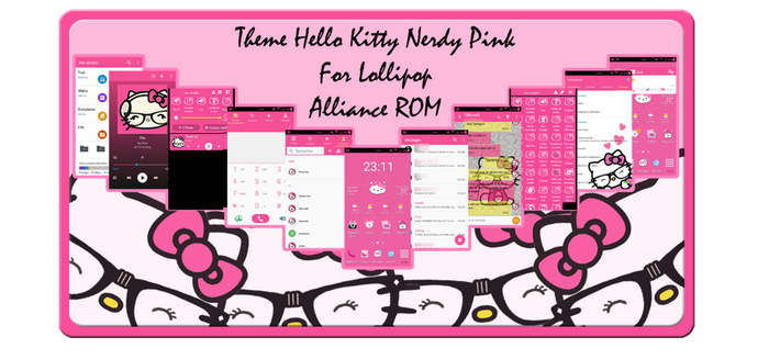 Theme Hello Kitty android by LadyPinkilicious