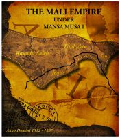 Civilization 5 Map: The Mali Empire by sukritact