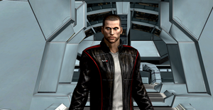 John Shepard Mass Effect 3 by Hatredboy