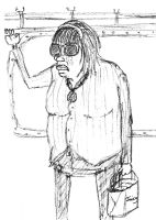 Sketches on the Subway Vol.1 - Juicy by JAKtheTerrible