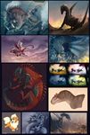2016 Art Dump by Taluns