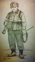 WWII German Gebirgsjager by warman707