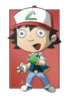 Ash Ketchum - Pokemon Trainer by cute-death