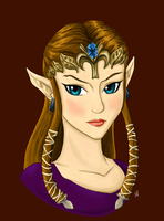 Zelda - finished color by Alisha-town
