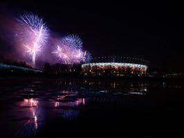 Inauguration of National Stadium in Warsaw by Andulka