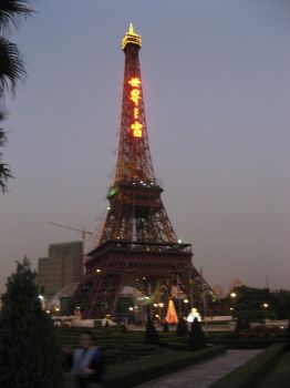 I was not at the Effiel Tower by ParangBoi