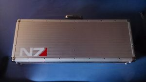 Mass Effect N7 Stampede Nerf Gun 4 Case by bbqjoe