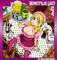 Colored- Cover Lucy Heartfilia by NeotakuxWendy