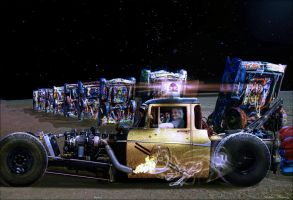 Cadillac Ranch-Another Night Drop Off 2 by ArthurRamsey