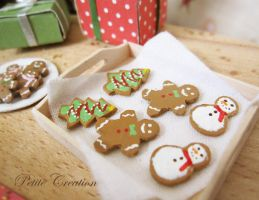 cookies earrings 1 by PetiteCreation