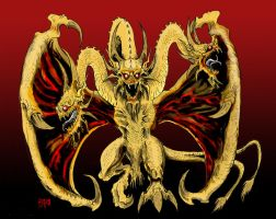 KINGU GHIDORAH by Nihilove