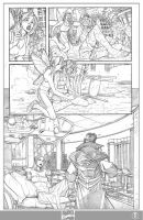 X-men 1 Page 5 Pencils by ElVlasco
