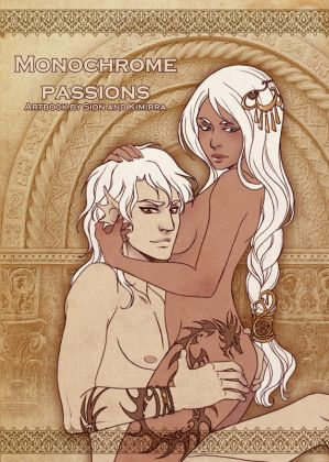 Monochrome Passions artbook cover by Kimir-Ra