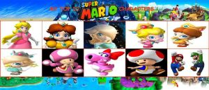My Top 10 Super Mario Characters Meme by Camilia-Chan
