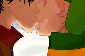 StanxKyle - South Park Yaoi by CULV3
