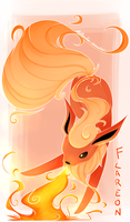 Flareon by Polkadot-Creeper