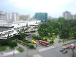 tilt shift skopje by alexci