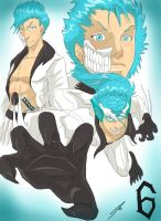 Grimmjow # 6 by Dericules