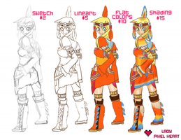 2014 Commission Prices listing by ladypixelheart