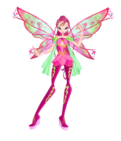 Winx club season6 Roxy Bloomix design by Forgotten-By-Gods