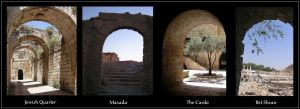 Arches of Israel by israel