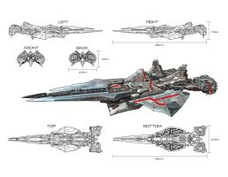 Tiamat_battleship by s2ka