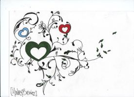Design for a tattoo by MonkeyBusinez