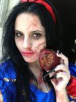 Snow White Zombie by puffylita