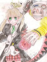 Soul Eater - Maka and Soul by Odespaprikan