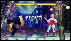 Hsien Ko VS Lilith by misfitghost