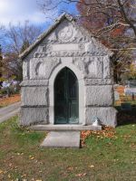 mausoleum tomb stock by oldsoulmasquer