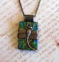 Dragonfly Elegance Fused Glass by FusedElegance