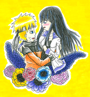 31: NaruHina Flowers by Leah-Sama